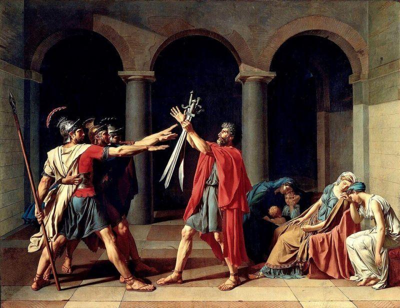 Давид. Клятва Горациев