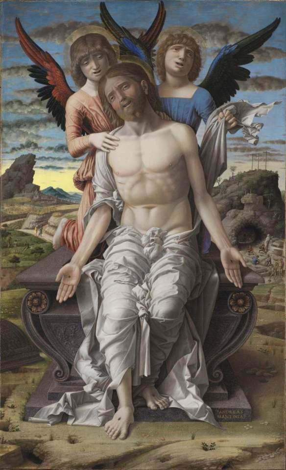 Мантенья. Христос — страдающий спаситель