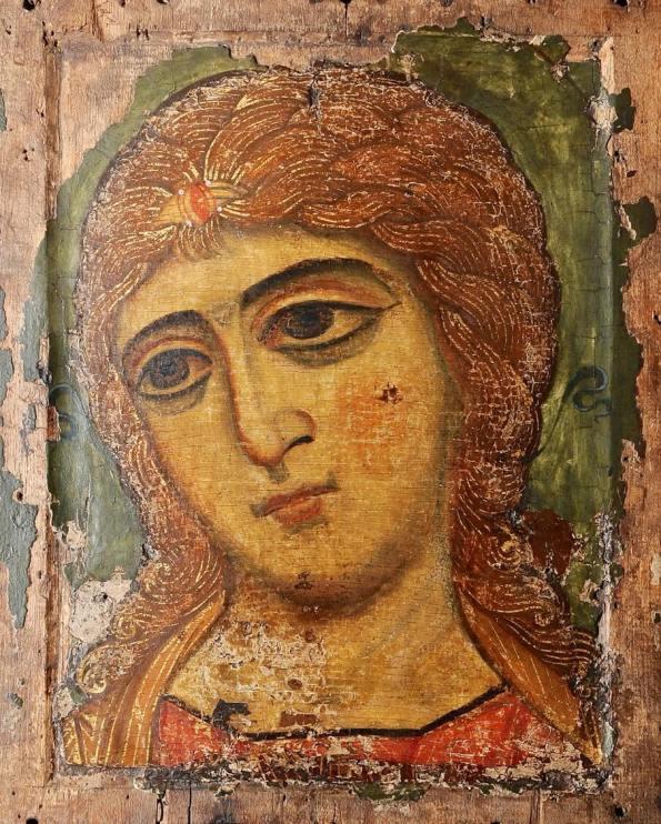 Ангел Златые Власа, 12 век