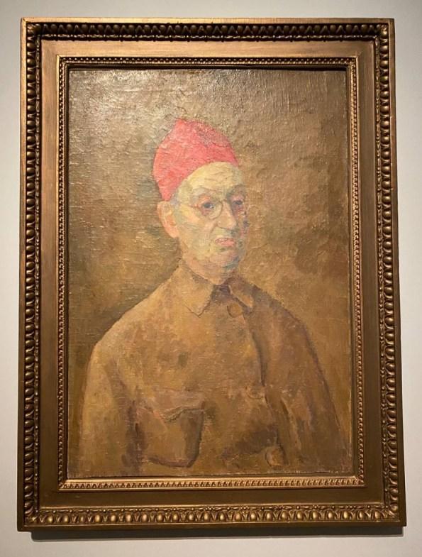 Фальк. Автопортрет в красной феске
