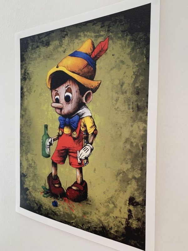 Pinocchio Limited edition art for sale USA