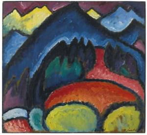 April - May 2017 Art Event in NYC: Alexei Jawlensky at Neue Galerie