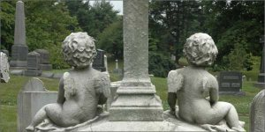 "Historic Green-Wood Cemetery: Public Art Project ""Here Lie the Secrets of Visitors of Green-Wood Cemetery"""