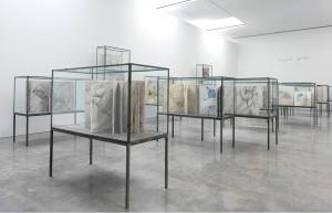 Art in NYC Anselm Kiefer Gagosian Gallery paintings watercolors books
