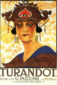 Opera Turandot at Metropolitan Opera Lincoln Center NYC