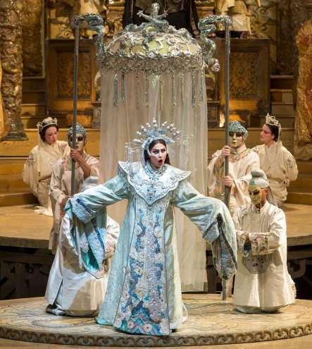 Opera Turandot at Metropolitan Opera Lincoln Center NYC