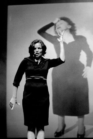 Piaf The Show New York City Florence Gould Hall Anne Carrere