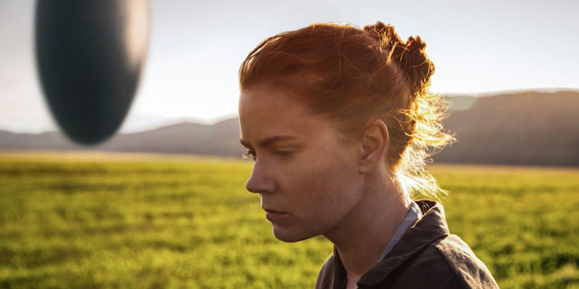 Arrival review – An alien presence provokes us to consider our own world