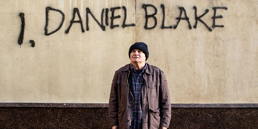 Daniel Blake (Dave Johns) stands defiant