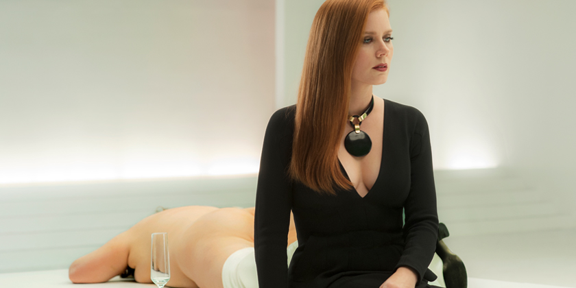 Susan Morrow (Amy Adams) contemplates her life as a wealthy art gallery owner