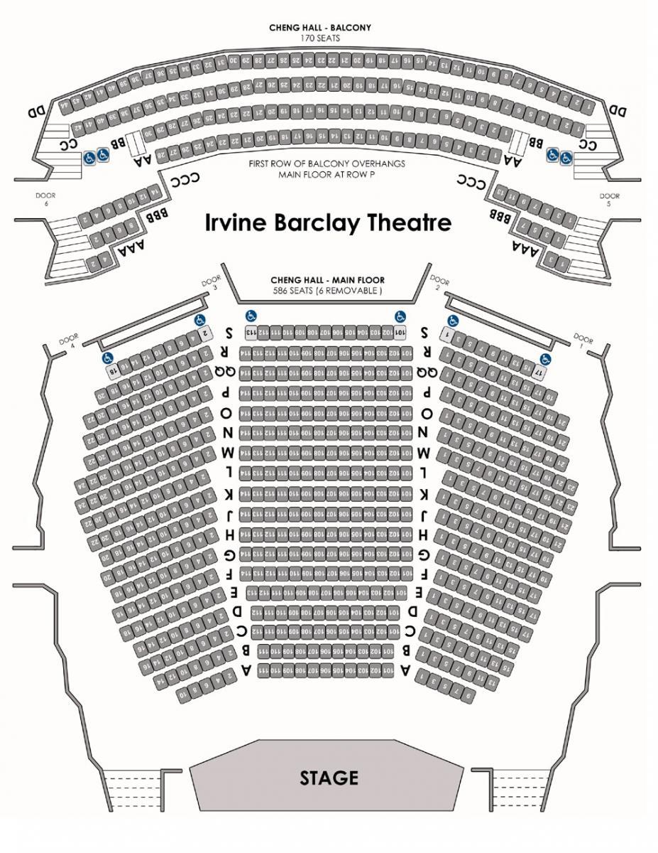 proscenium stage diagram box 1999 dodge caravan wiring irvine barclay theatre claire trevor school of the arts uc