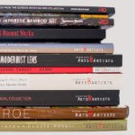 Stack of art books