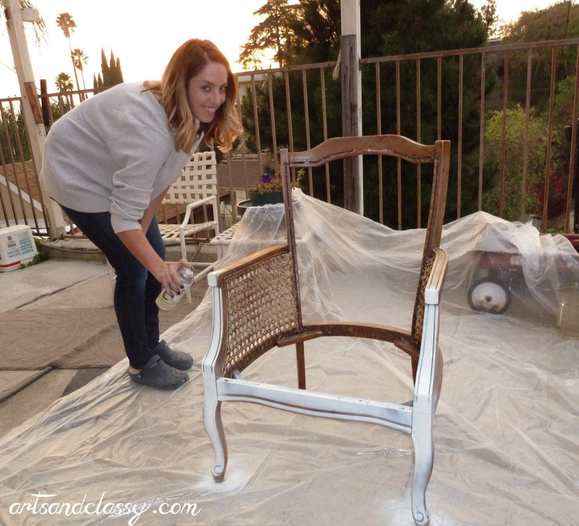 diy dining chairs makeover crate and barrel chair tutorial cane back in 10 steps arts