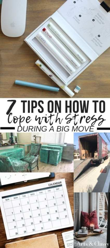 7 Tips on How to Cope with Stress During a Move