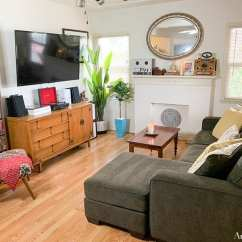 Want To Decorate My Living Room Photos Well Designed Rooms How I Packed Christmas Decorations And Refreshed What Do You Think Of Now Doesn T It Look Nice Clean Still Have A Few Things Get For This Like An Area Rug