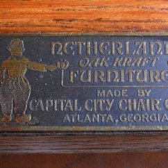 Georgia Chair Company Dance Jewish Capital City Arts And Crafts Collector