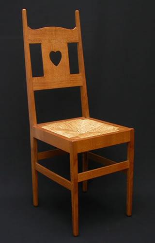 Arts  Crafts Design  CFA Voysey Bedroom Chair