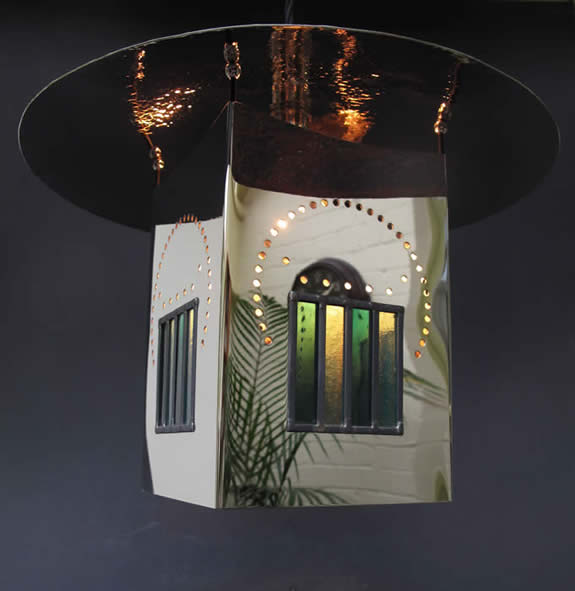 CR Mackintosh Willow Lantern