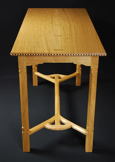 Ernest Gimson Hayrake Table Details