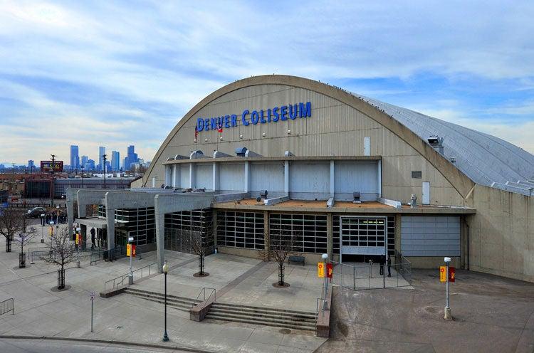 Denver Coliseum Denver Arts Amp Venues