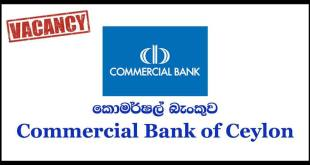 Banking Trainees – Commercial Bank of Ceylon PLC 2019