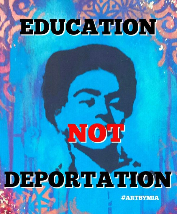 Education Deportation - Acrylic And Digital In