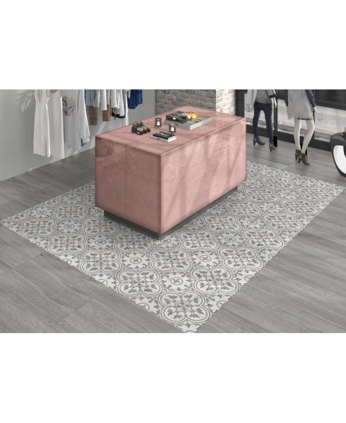 carrelage imitation parquet sans noeud gris mat 21 8x90 4x0 9cm d amazon gris