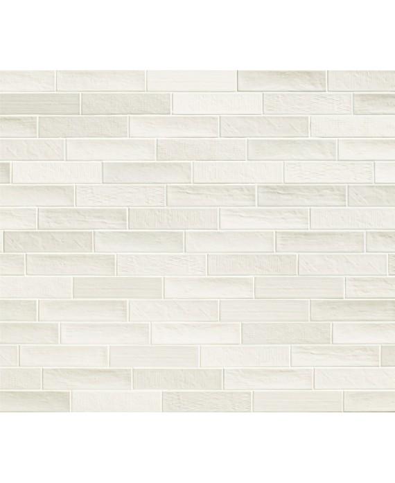 carrelage salle de bain moderne mural santadecorwall blanc 25x75cm