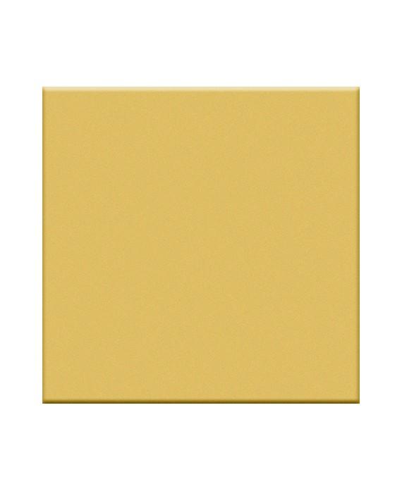 carrelage jaune brillant salle de bain