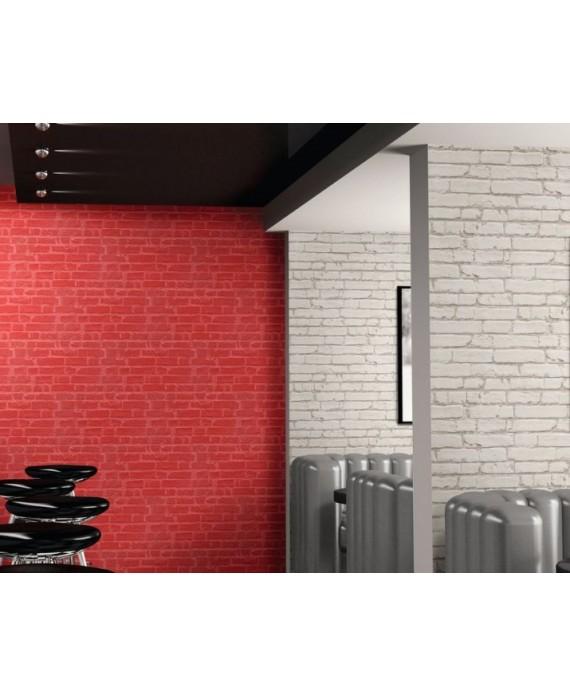 Carrelage Parement Imitation Brique Rouge Mat Credence De Cuisine 31x56cm Realmanhattan