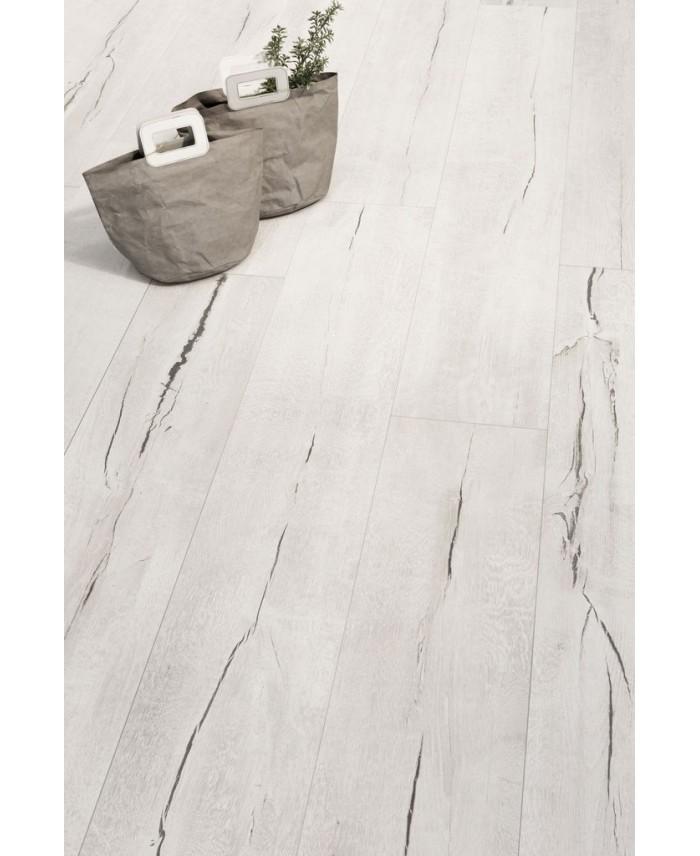 carrelage imitation parquet blanchi