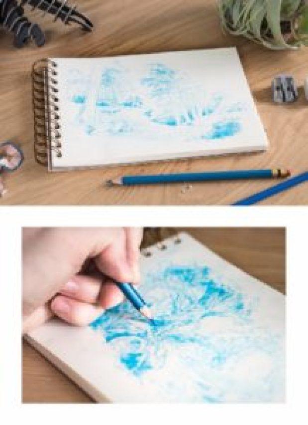 Landscapes in pencil-11