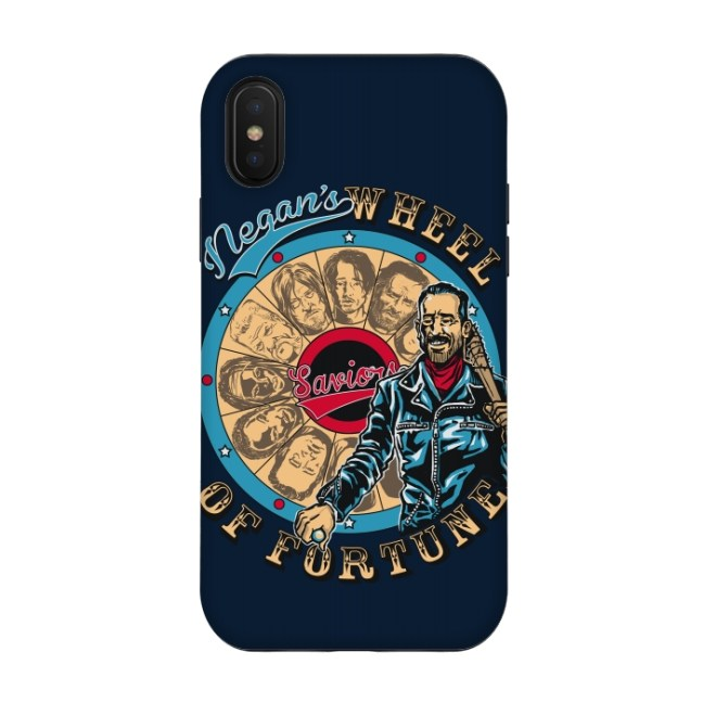 Funda The Walking Dead Neagan para iPhone X
