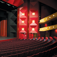 Theatre Seating Charts  The Performing Arts Center Purchase College