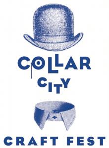 Collar city craft fest logo BLUE