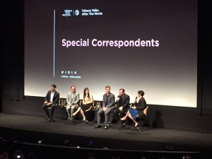 The cast during the Tribeca Film Festival.