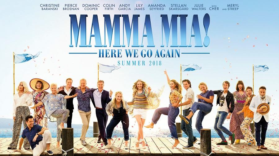 Image result for Mamma Mia: Here We Go Again (2018)