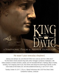 King David by Honegger