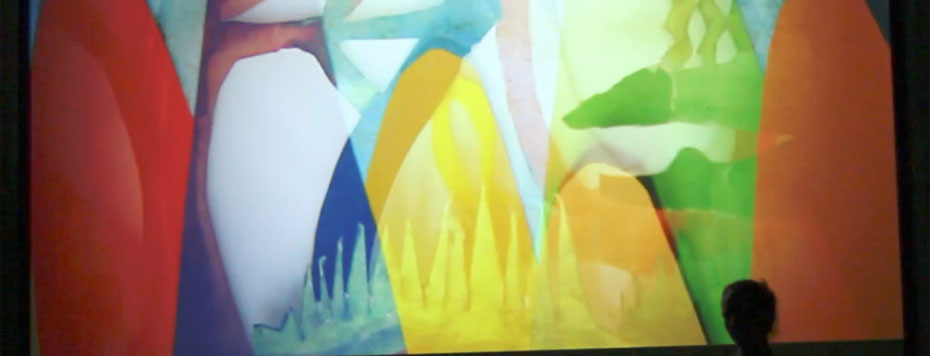 Lydia Greer and Caryl Kientz - Experimental Shadow Animation