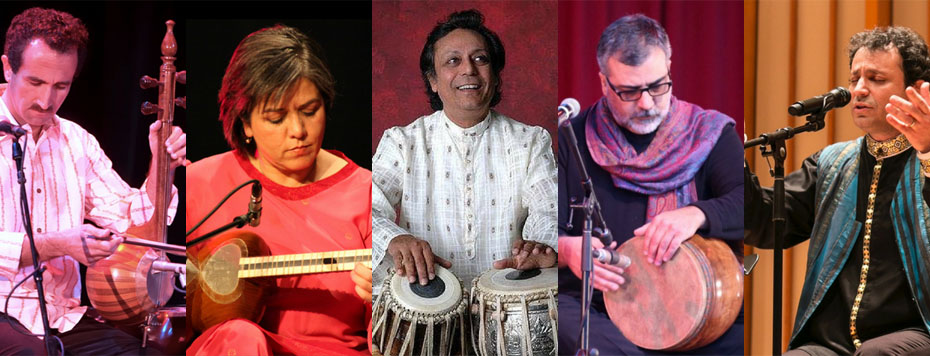 Pandit Swapan Chaudhuri and Lian Ensemble