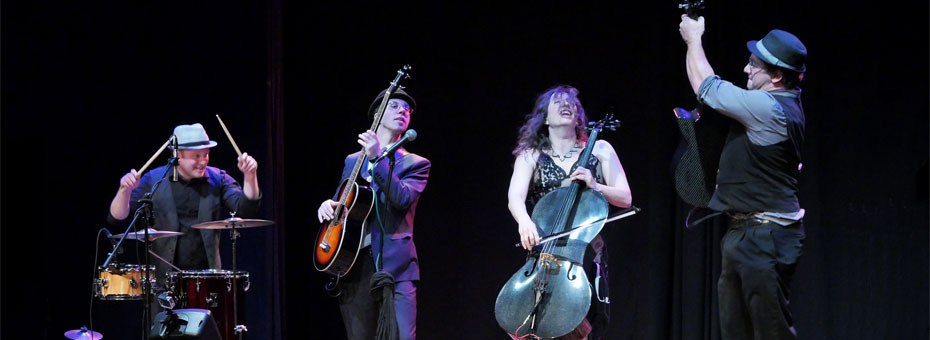 MUSIC | From China to Italy, and all over the U.S., Dirty Cello brings the world a high energy and unique spin on blues and bluegrass.