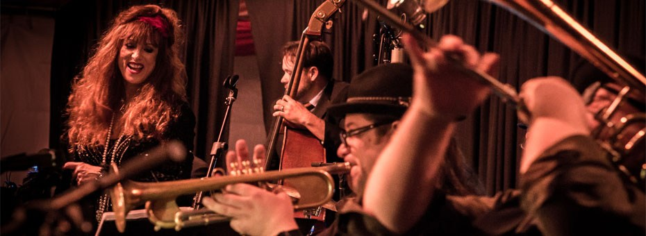 MUSIC | The Back Room is proud to present Roberta Donnay and the Prohibition Mob Band's Holiday Party, with special guests.
