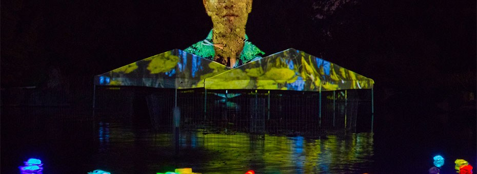 MULTIMEDIA | Commissioned by the San José Museum of Art, Bay Area artist Robin Lasser has created a series of video mapping installations as part of her ongoing project Migratory Cultures.