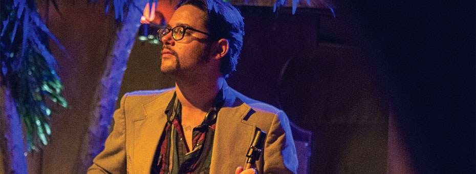 MUSIC | Saxophonist & multi-instrumentalist, Smith Dobson has been a stalwart of the SFBA jazz scene for over 20 years & now makes his debut as a band leader at the Bach!