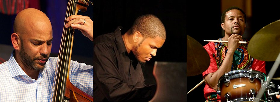 MUSIC | This Just Jazz Pop-Up Series features the Eric Revis 3 with Eric Revis - bass, Joshua White - piano, and Nasheet Waits - drums.