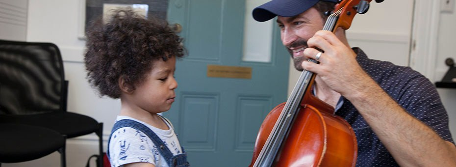 MUSIC | Community Music Center welcomes the public to our Mission District Branch to try out an instrument or a class for free on CMC Sundays! Bring your instrument, your voice, your family, and friends!