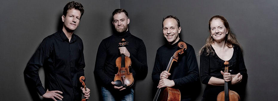 """MUSIC   """"Modern,"""" dramatic,"""" """"superb,... are just a few ways critics describe the musical phenomenon that is the St. Lawrence String Quartet (SLSQ)."""