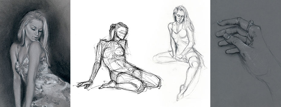 Beginner Figure Drawing Class