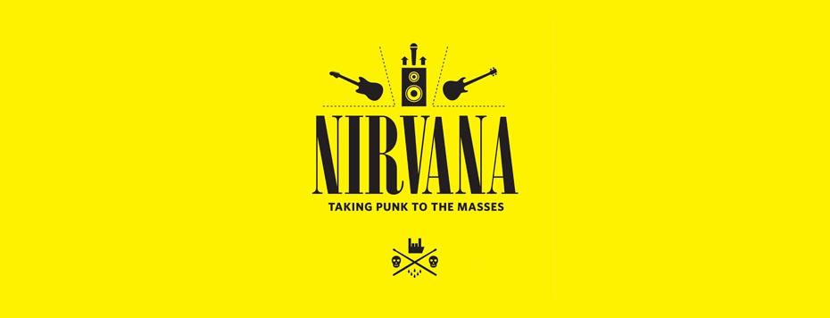 Nirvana Taking Punk Masses