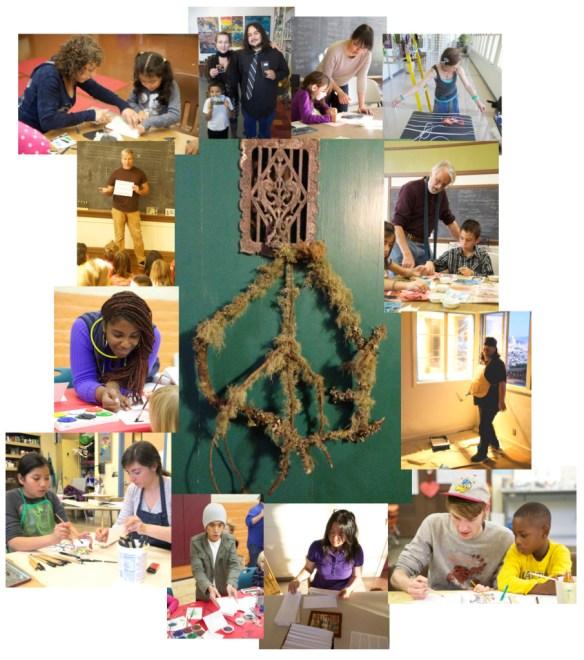 Holiday Violunteer Celebration Collage
